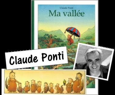 Ma vallée de Claude Ponti / CE2