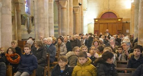 Messe avec les familles de Février