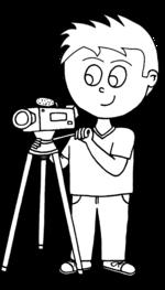 Dessin - Caméraman