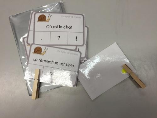 Ateliers en français