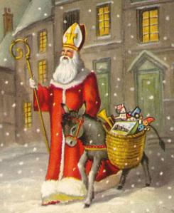 Aujourd'hui on fête Saint-Nicolas