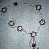 Collier sautoir de Perle Cristal