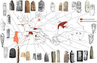 BABA STONES et statues menhirs