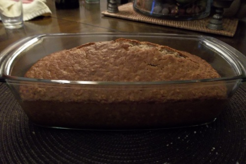 Banana bread, my first