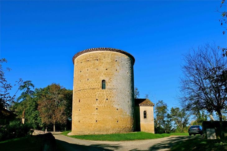 Les vestiges du château - Lamaguère