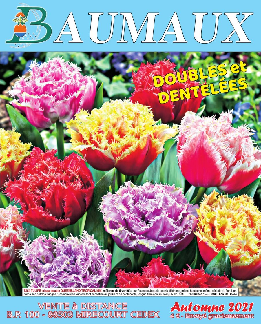 «Catalogue Baumaux»