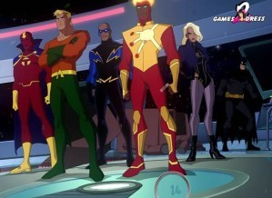 Hidden numbers - Justice league crisis on two earths