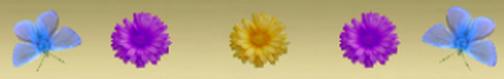 Barre séparation fleurs