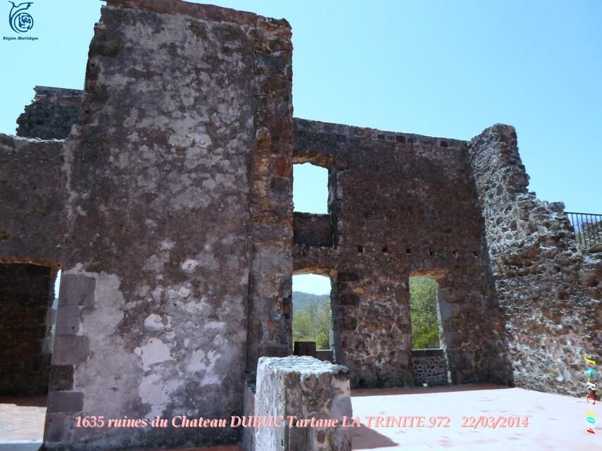 VACANCES MARTINIQUE Ruines du château DUBUC 3/4  Mars Avril 2014 11/10/2014