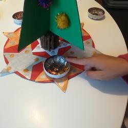 Tuto : Un centre de table lumineux pour Noël