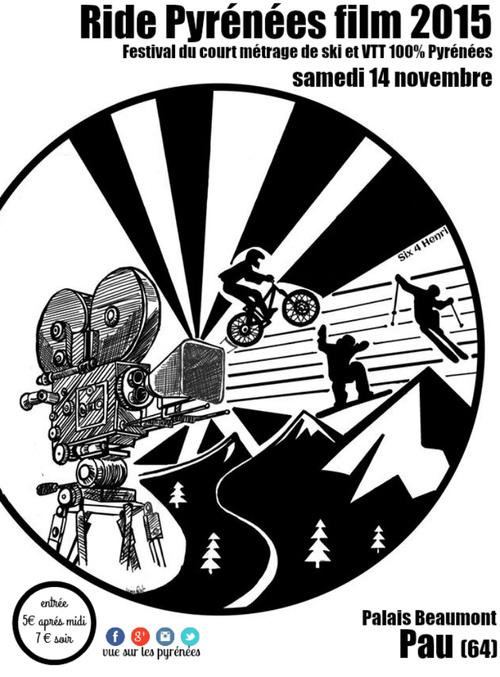 Festival Ride Pyrénées film Pau 2015