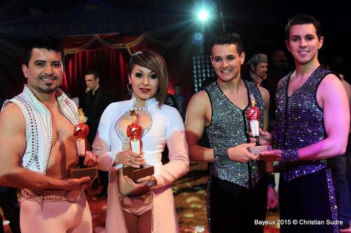 Lauréats 2015 avec leur LOYAL !