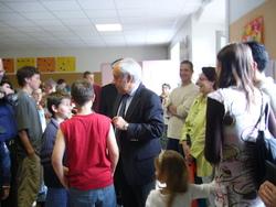 Grande inauguration : première labellisation éco-école