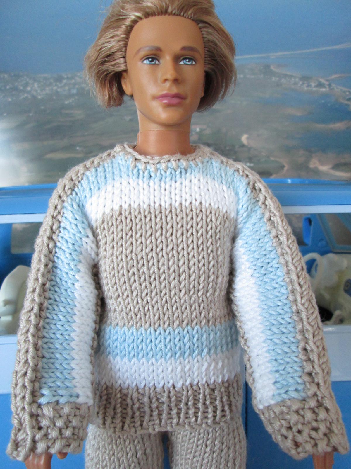 Modele tricot gratuit pour ken - Tuto tricot debutant gratuit ...
