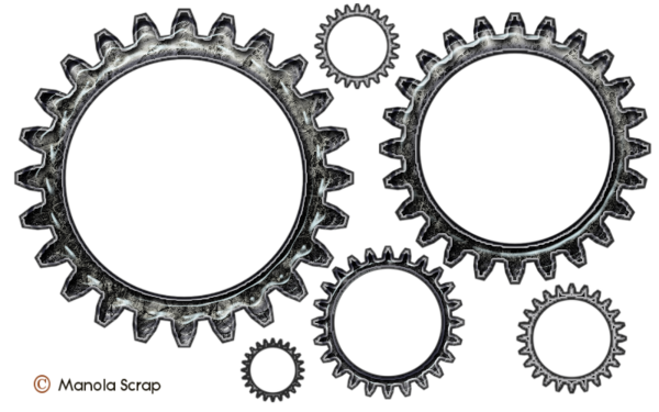 Rouages d'horlogerie pour le scrap digital pur relief - page 3
