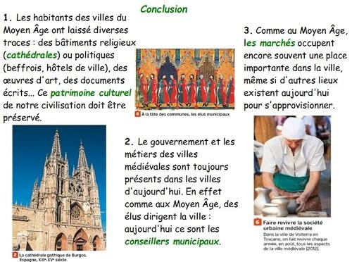 Une nouvelle société urbaine ( XIe - XVe siècle)