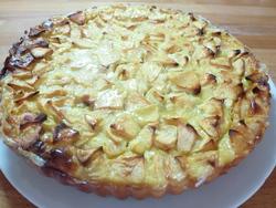Le gâteau tarte aux pommes