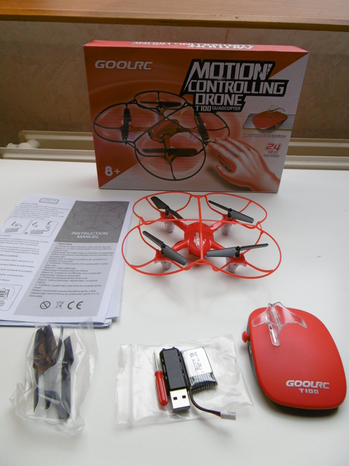 Drone GoolRC T100 2.4GHz