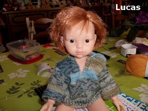 Bien habillé Lucas !