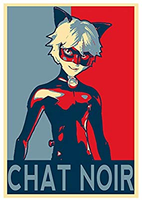 Miraculous Poster - 3 Chat Noir