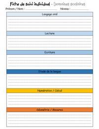 Les cahiers de la maîtresse : le suivi des élèves et le teacher planner 2019/2020