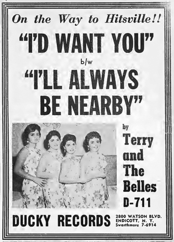 The Belle-Aires aka Terry & The Belles (2)