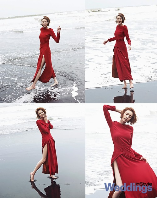 Lee Da Hee pour Instyle