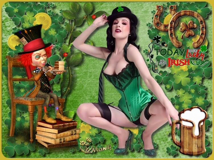 Défi  St Patrick pour Monia 59