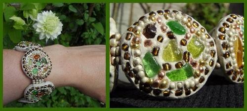 Bracelets en pâte