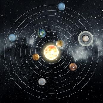 Les 7 planètes qui représentent les 7 jours de la semaine