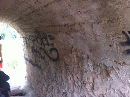 Les dessous du Pont de Bayeux à Meyreuil