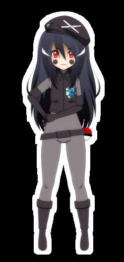 [Kisekae - Pokemon x Pokemaloid] Neo Team Plasma grunt (Crystal)