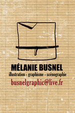 carte de contact de Mélanie Busnel