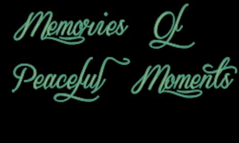 Souvenirs de moments paisibles