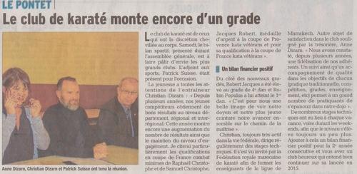Le Dauphiné Libéré 10/02/2015