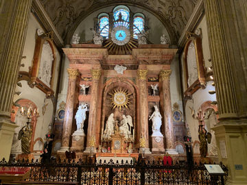 Malaga - Cathédrale de la Encarnacion - chapelle de la Encarnacion