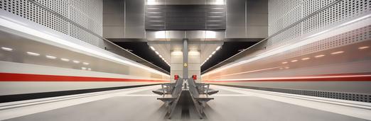 le métro vue par Markus Studtmann