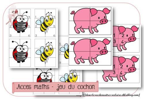 acces - jeu du cochon