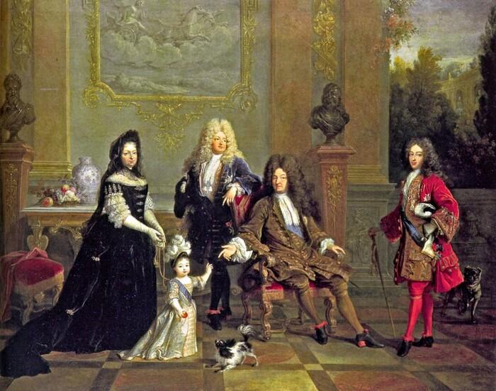 LE DÉPUCELAGE DE LOUIS XIV AU LOUVRE