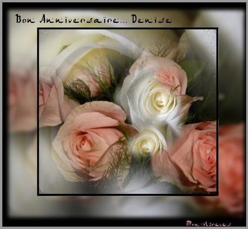 Bon Anniversaire Denise
