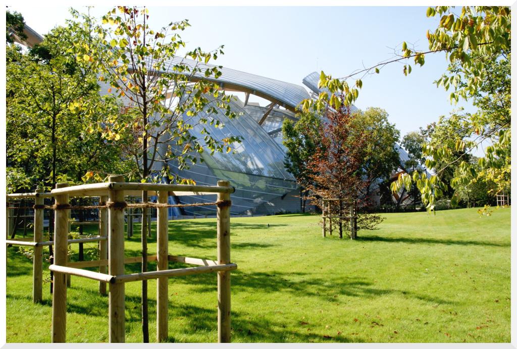 Fondation louis vuitton au jardin d 39 acclimatation le - Pavillon des oiseaux jardin d acclimatation ...
