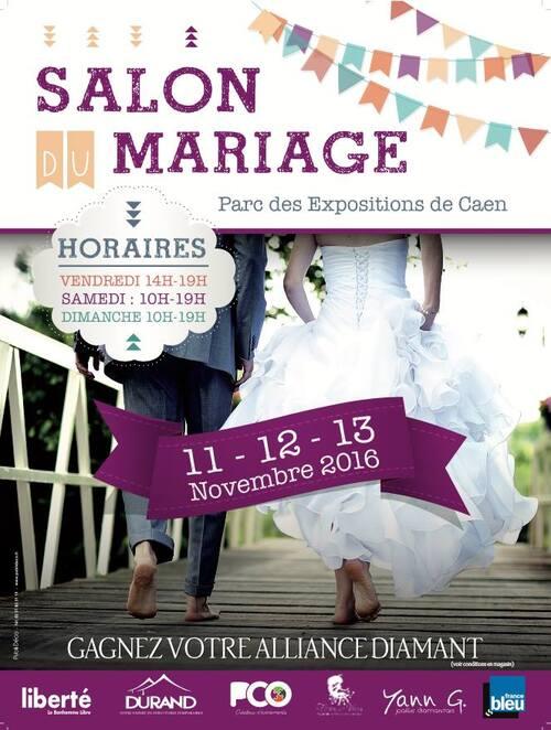 Rendez-vous au salon du mariage de Caen [Concours]