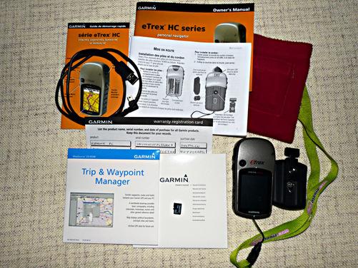 Vente GPS de randonnée Garmin eTrex Vista HCx