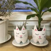 """Petits pots """"chats"""""""
