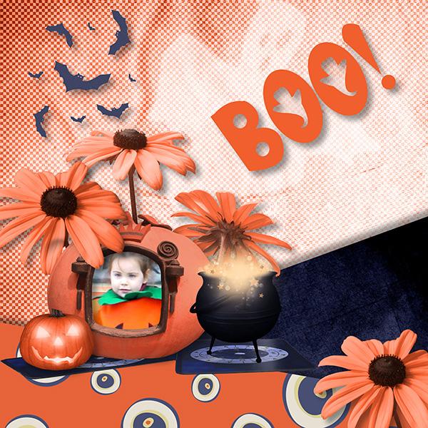 "Collab ""Halloween"" Jess et Xuxper Designs"