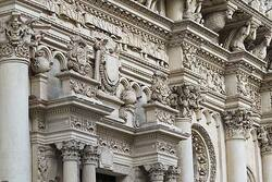**  CARTE d' ITALIE :  VILLE de LEECE -province de SALENTO