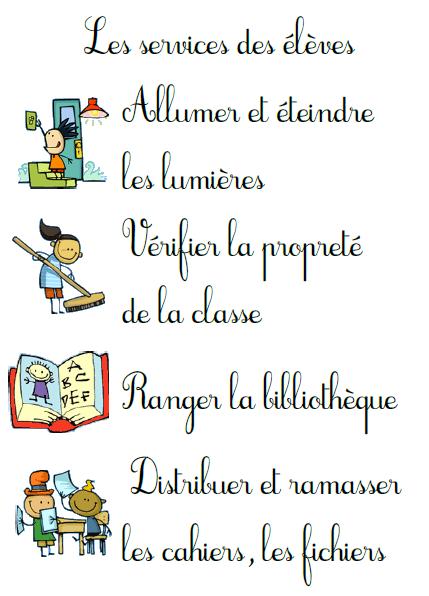 Services des élèves