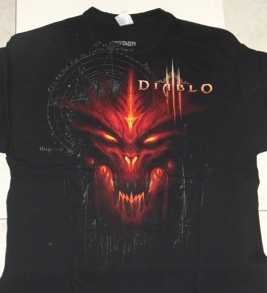 vetements t-shirt diablo 3