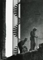 JEAN SUQUET AU LAC GELÈ terrassiers escalier