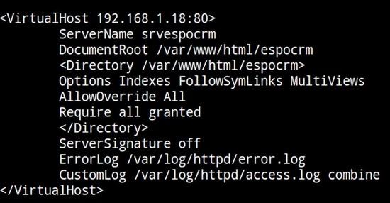 Installer EspoCRM sur Centos 7